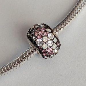 Chamilia Pink Jeweled Kaleidoscope Charm